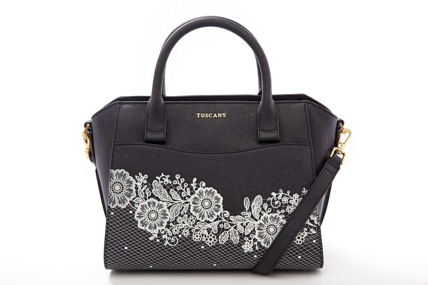 Lace Satchel