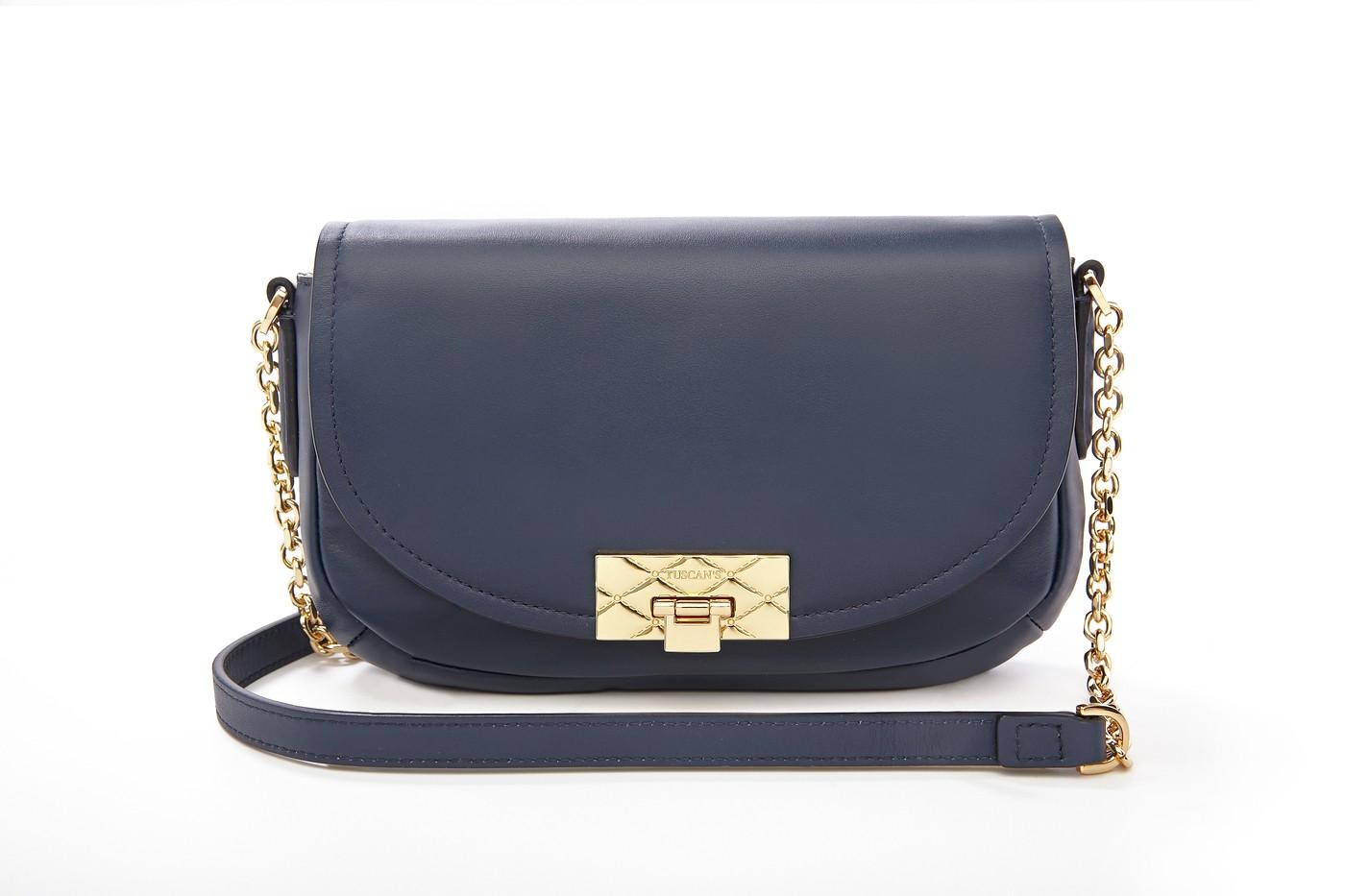 Hex Flap Bag