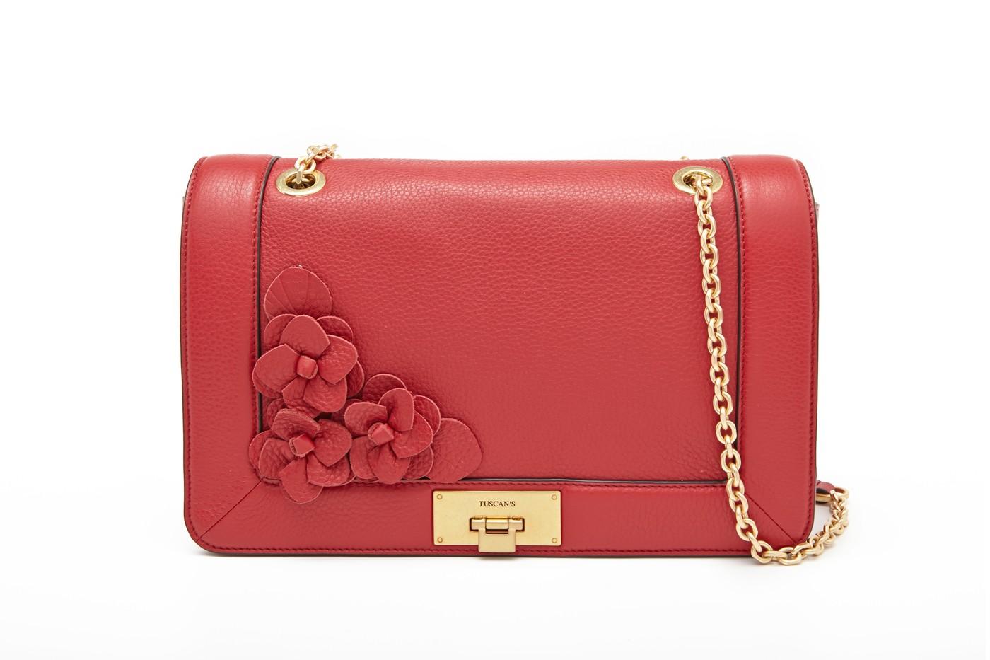 Corsage Flap Bag